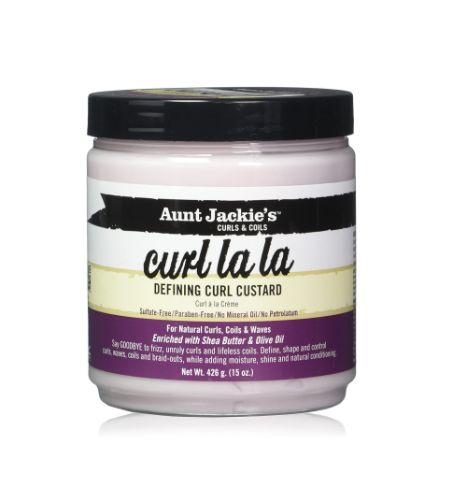 Curl La La - Defining Curl Custard definierar dina lockar, krullar och kinks och håller dem på plats