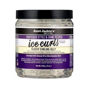 Aunt jackies grapeseed ice curls glossy curling gel för lockigt hår