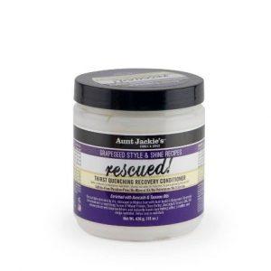 Aunt Jackie's Grapeseed Rescued Conditioner återuppliva och återställa torrt och skadat hår.