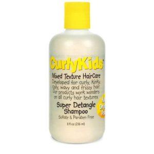 curly kids schampo för barn med afrohår