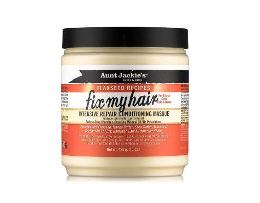 Aunt Jackie's Flaxseed Fix My Hair reparerande hår behandling